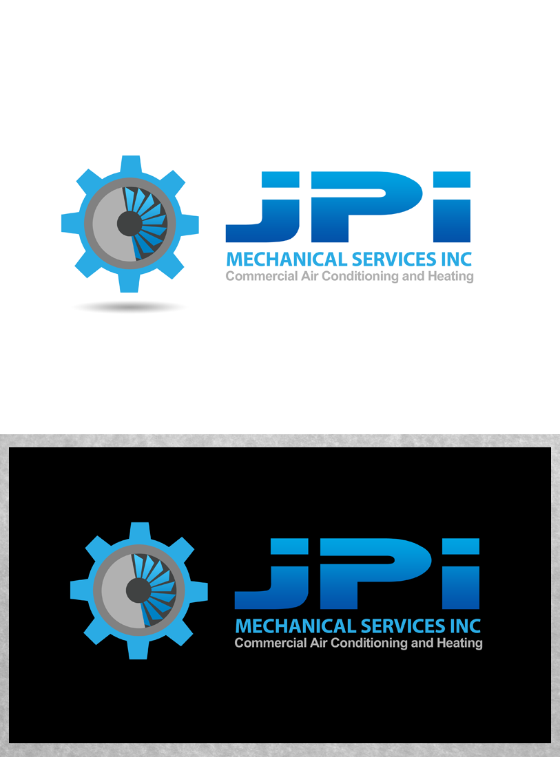 Logo Design by Private User - Entry No. 108 in the Logo Design Contest Inspiring Logo Design for JPI Mecanical Services.
