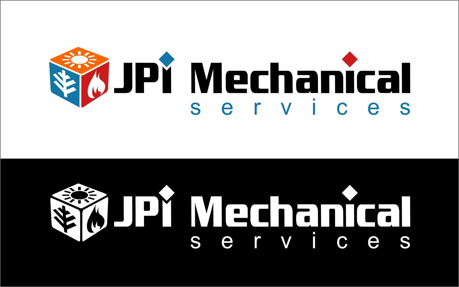 Logo Design by Niraj Dhimmar - Entry No. 111 in the Logo Design Contest Inspiring Logo Design for JPI Mecanical Services.