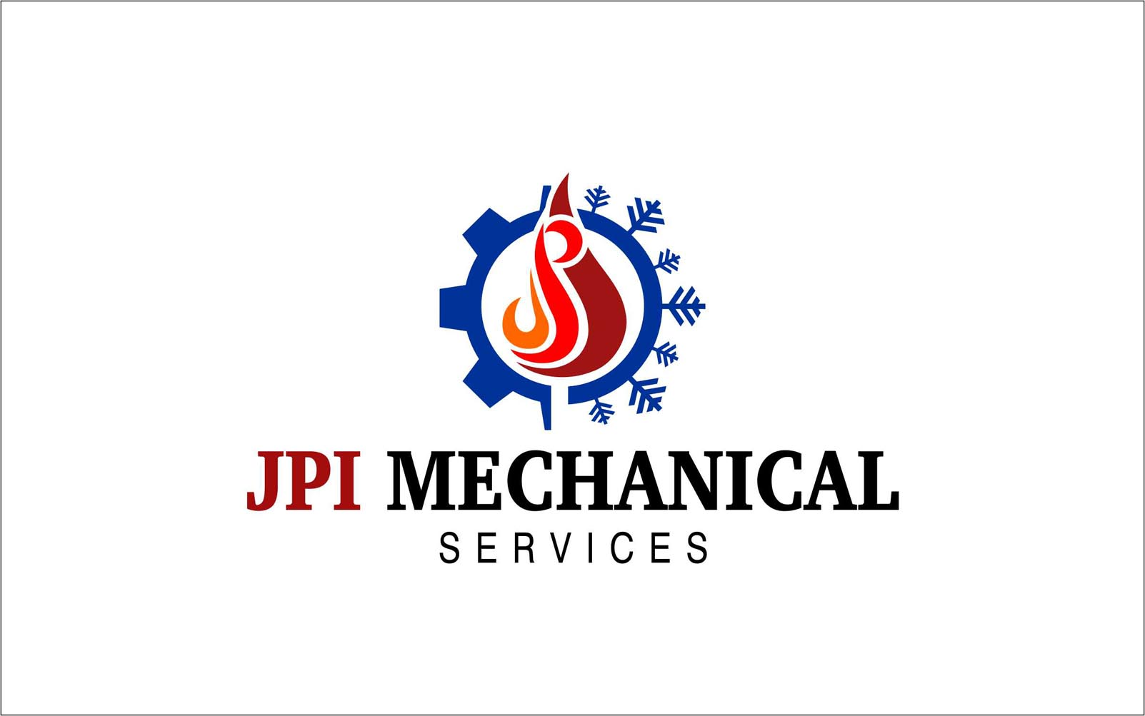 Logo Design by Niraj Dhimmar - Entry No. 114 in the Logo Design Contest Inspiring Logo Design for JPI Mecanical Services.