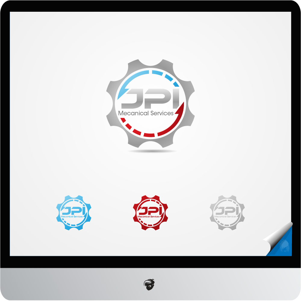 Logo Design by zesthar - Entry No. 122 in the Logo Design Contest Inspiring Logo Design for JPI Mecanical Services.