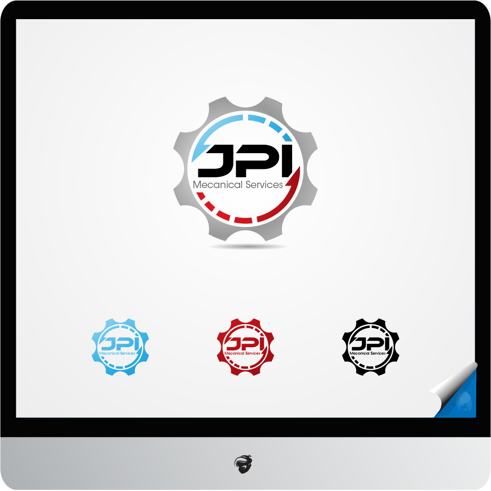 Logo Design by zesthar - Entry No. 123 in the Logo Design Contest Inspiring Logo Design for JPI Mecanical Services.