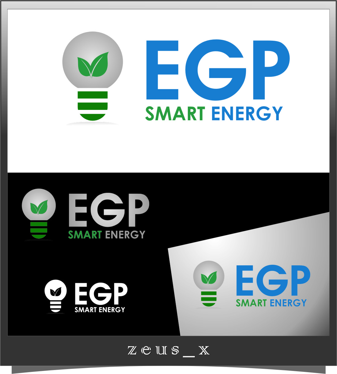 Logo Design by RasYa Muhammad Athaya - Entry No. 93 in the Logo Design Contest Captivating Logo Design for EGP Smart Energy.