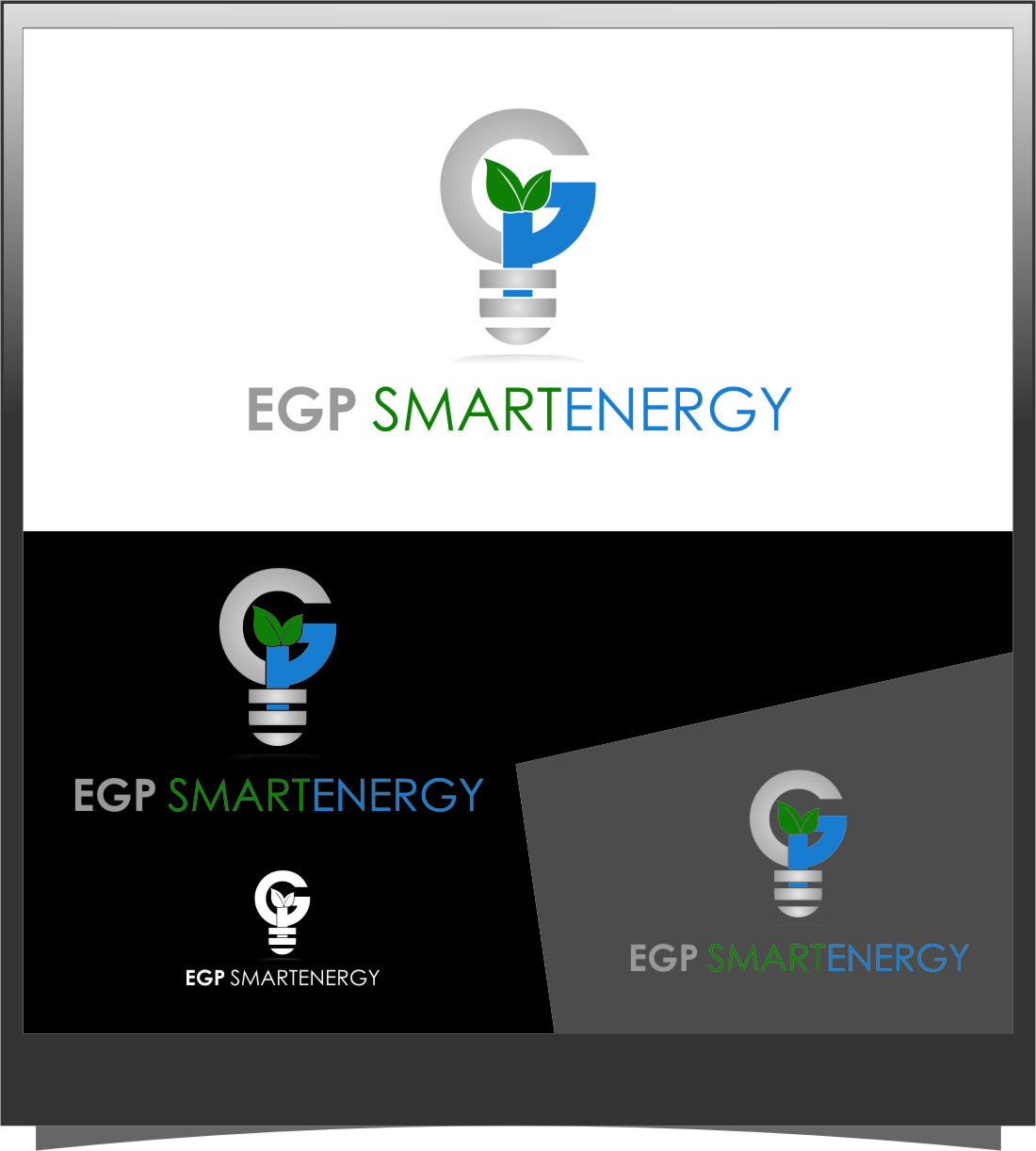 Logo Design by RasYa Muhammad Athaya - Entry No. 95 in the Logo Design Contest Captivating Logo Design for EGP Smart Energy.