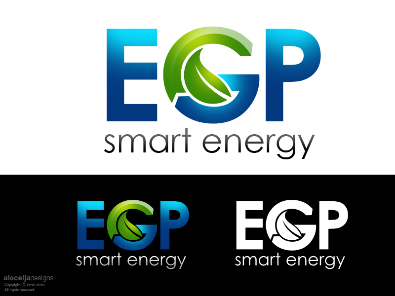 Logo Design by alocelja - Entry No. 98 in the Logo Design Contest Captivating Logo Design for EGP Smart Energy.