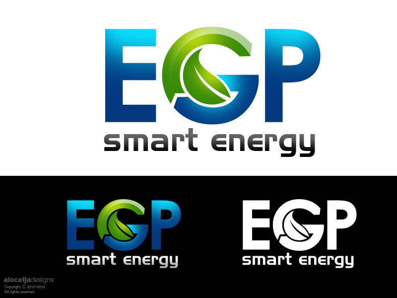 Logo Design by alocelja - Entry No. 99 in the Logo Design Contest Captivating Logo Design for EGP Smart Energy.