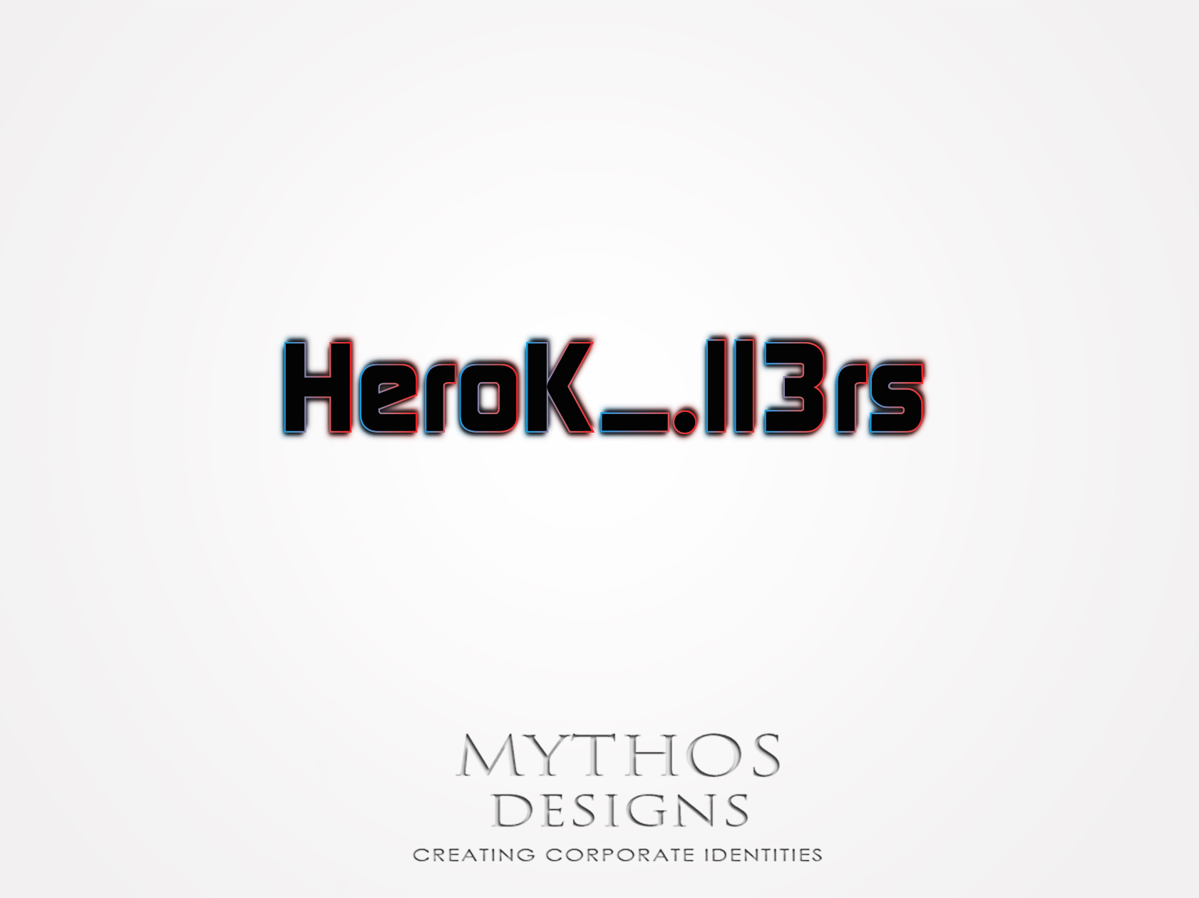 Logo Design by Mythos Designs - Entry No. 6 in the Logo Design Contest Fun Logo Design for HeroKill3rs.
