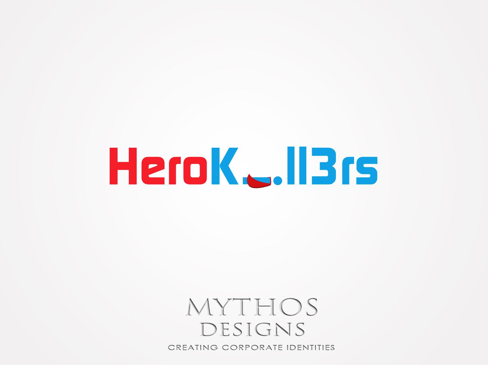 Logo Design by Mythos Designs - Entry No. 7 in the Logo Design Contest Fun Logo Design for HeroKill3rs.