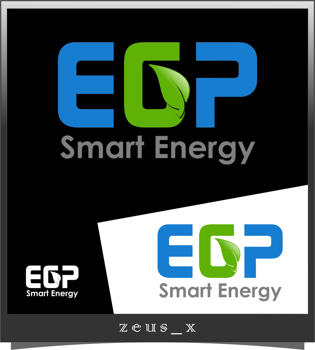 Logo Design by RasYa Muhammad Athaya - Entry No. 107 in the Logo Design Contest Captivating Logo Design for EGP Smart Energy.