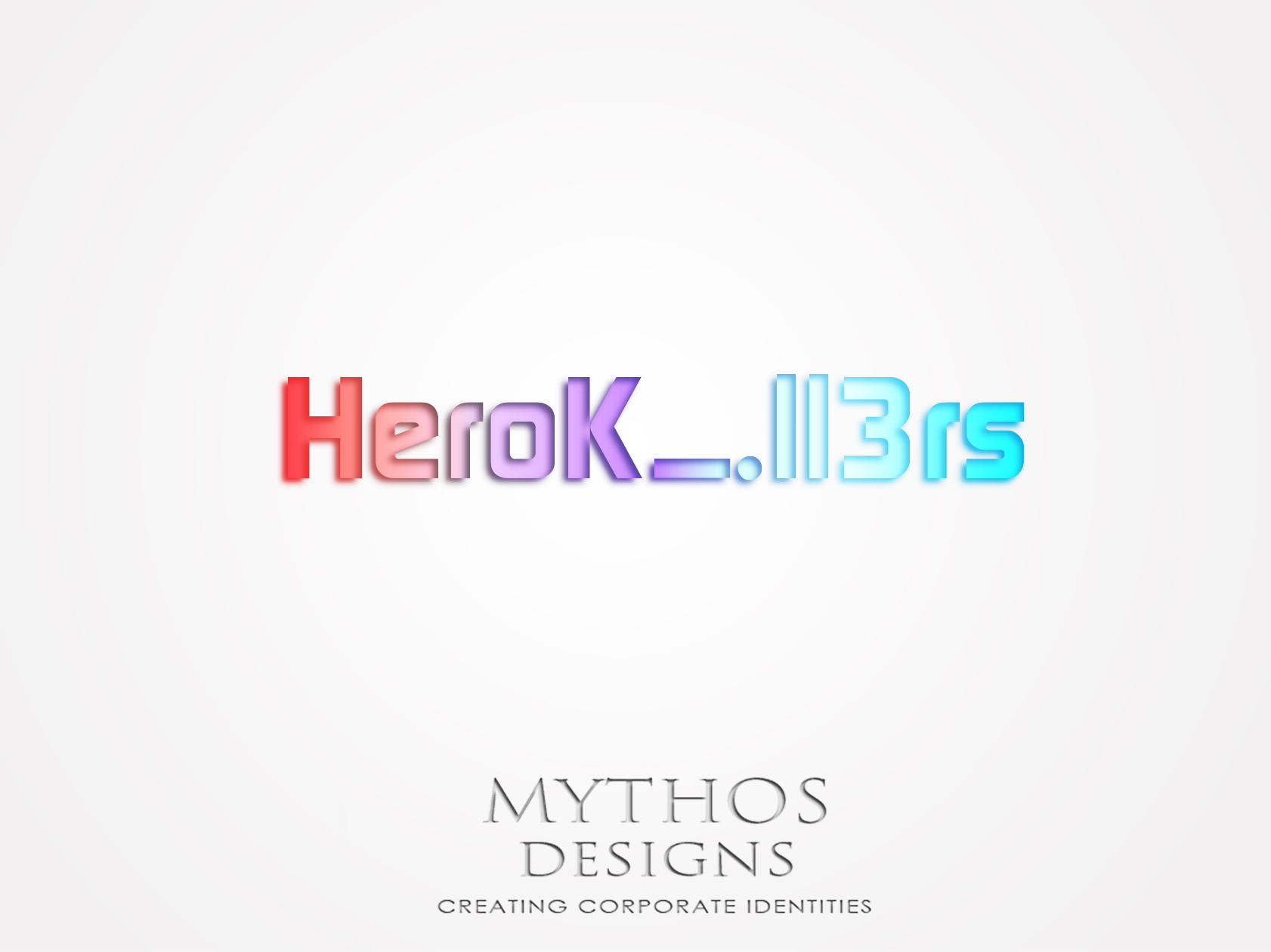Logo Design by Mythos Designs - Entry No. 8 in the Logo Design Contest Fun Logo Design for HeroKill3rs.