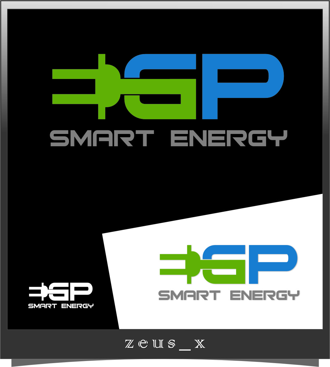 Logo Design by RasYa Muhammad Athaya - Entry No. 108 in the Logo Design Contest Captivating Logo Design for EGP Smart Energy.