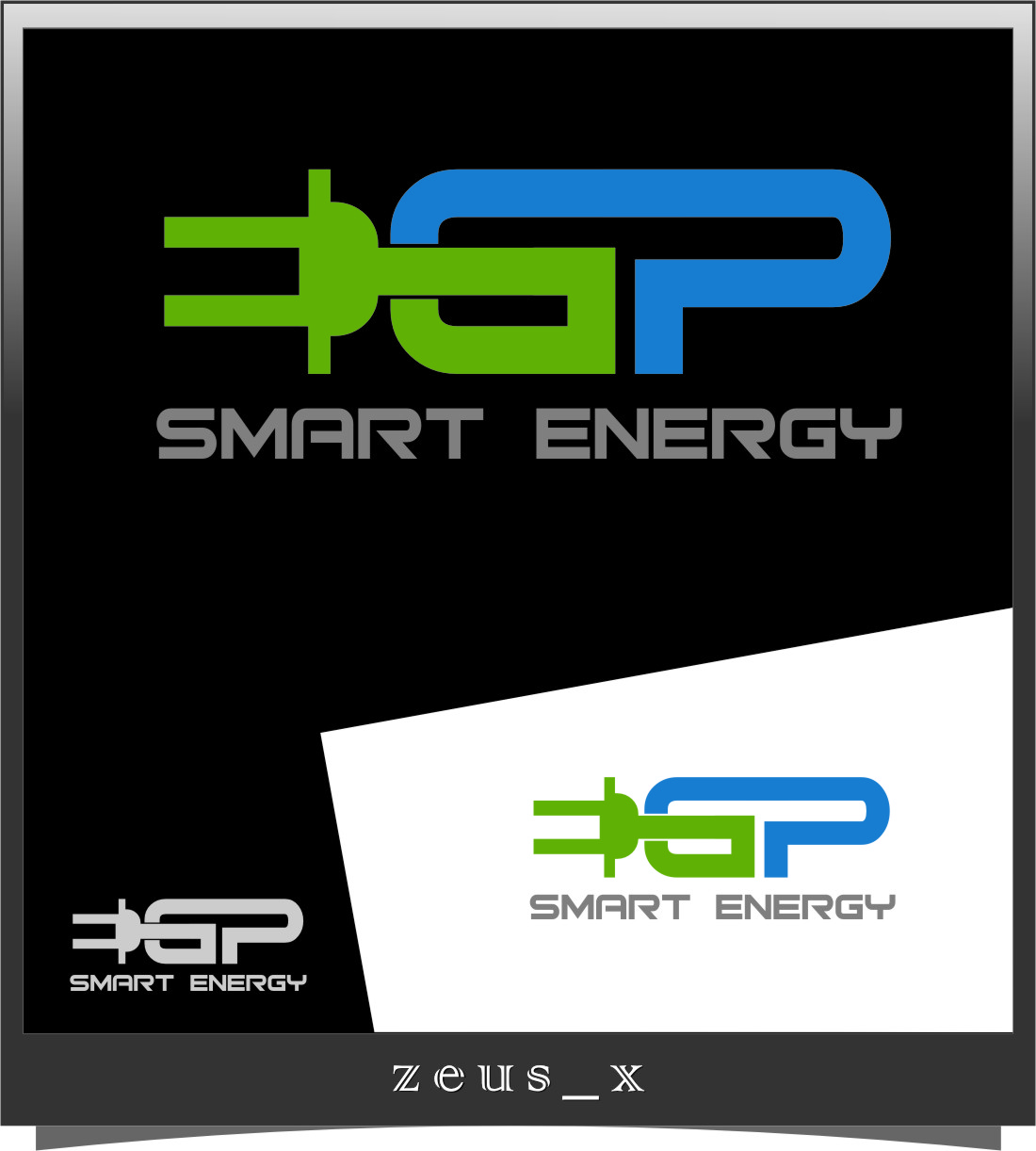 Logo Design by RasYa Muhammad Athaya - Entry No. 109 in the Logo Design Contest Captivating Logo Design for EGP Smart Energy.