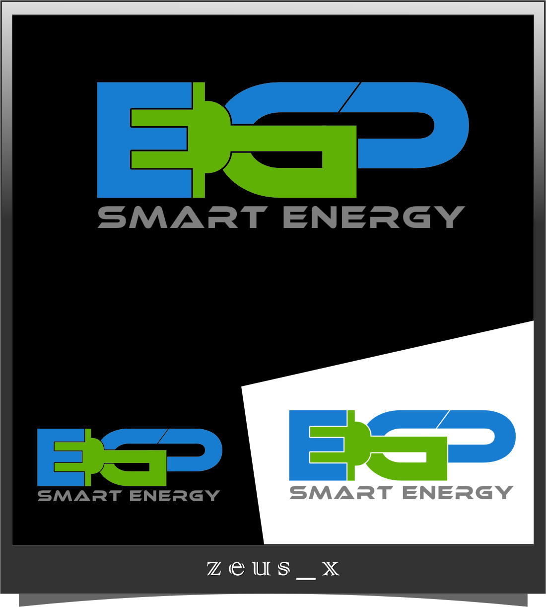 Logo Design by Ngepet_art - Entry No. 111 in the Logo Design Contest Captivating Logo Design for EGP Smart Energy.
