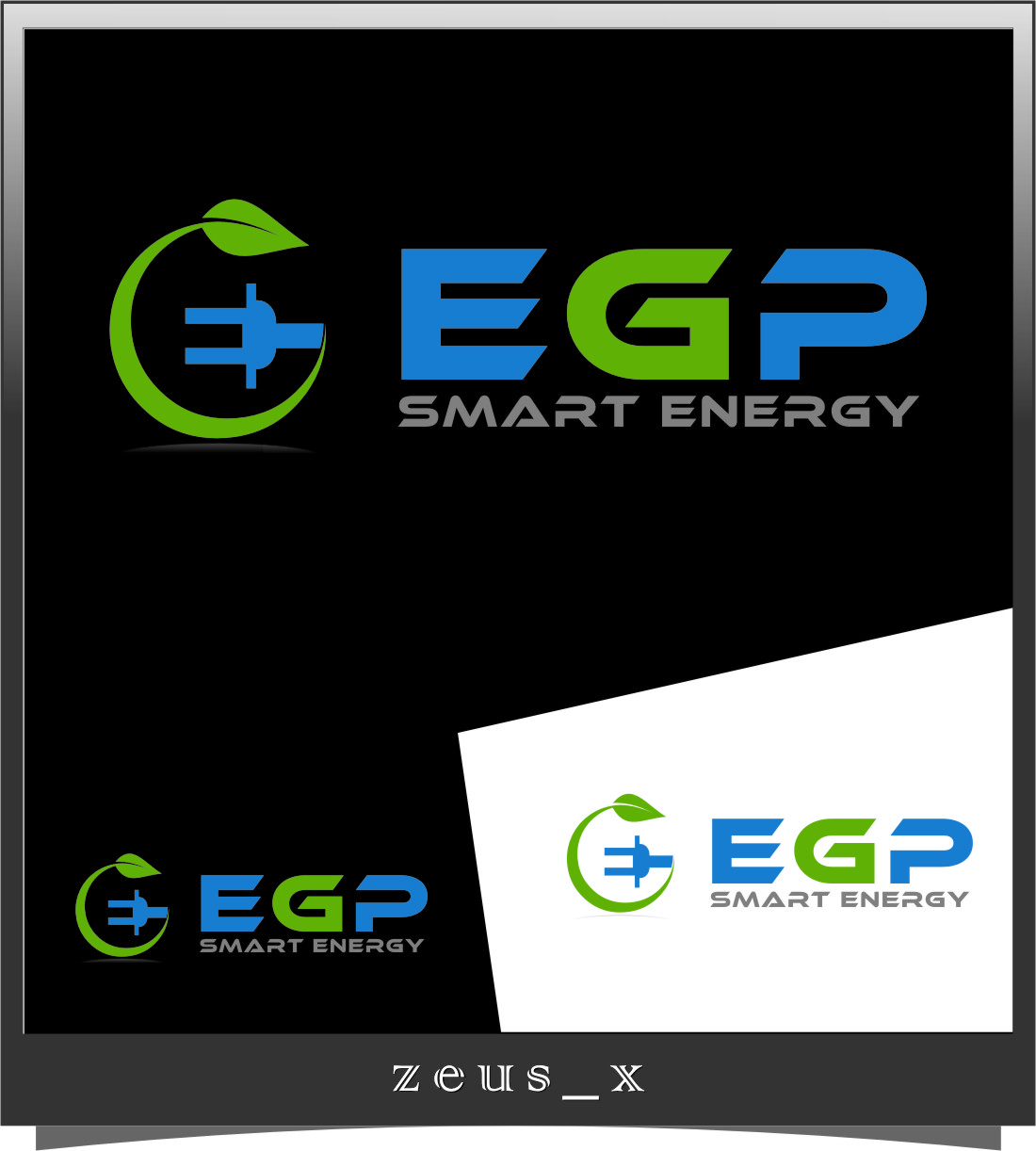 Logo Design by Ngepet_art - Entry No. 114 in the Logo Design Contest Captivating Logo Design for EGP Smart Energy.