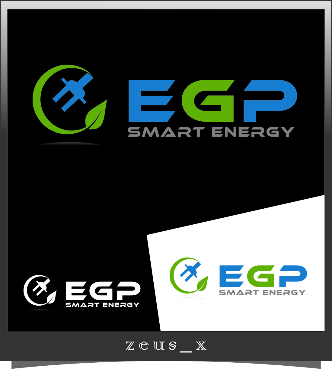 Logo Design by Ngepet_art - Entry No. 115 in the Logo Design Contest Captivating Logo Design for EGP Smart Energy.