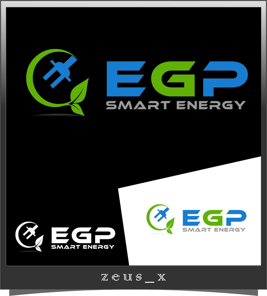 Logo Design by Ngepet_art - Entry No. 116 in the Logo Design Contest Captivating Logo Design for EGP Smart Energy.