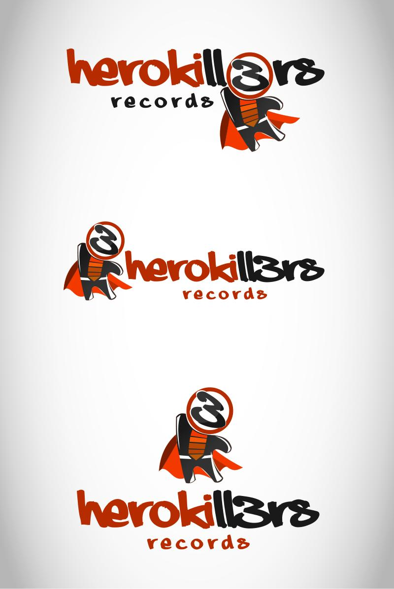 Logo Design by Private User - Entry No. 18 in the Logo Design Contest Fun Logo Design for HeroKill3rs.