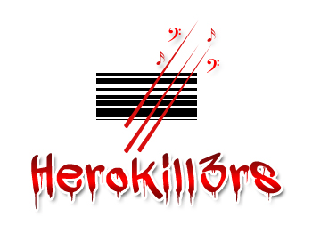 Logo Design by Crystal Desizns - Entry No. 24 in the Logo Design Contest Fun Logo Design for HeroKill3rs.
