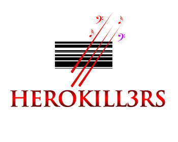 Logo Design by Crystal Desizns - Entry No. 25 in the Logo Design Contest Fun Logo Design for HeroKill3rs.
