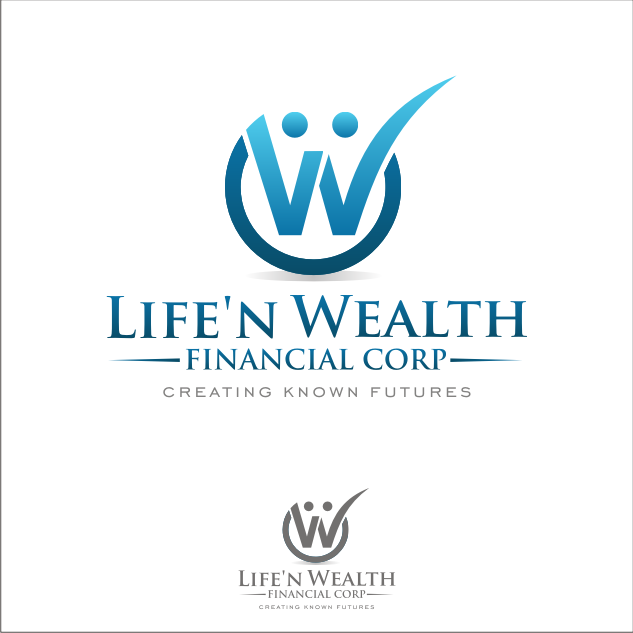 Logo Design by key - Entry No. 38 in the Logo Design Contest Life'nWealth Financial Corp..