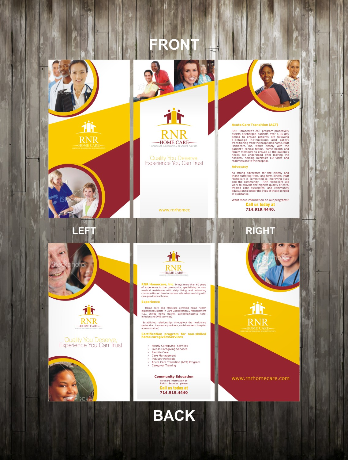 Print Design by Private User - Entry No. 20 in the Print Design Contest Captivating Print Design for RNR Homecare, Inc..