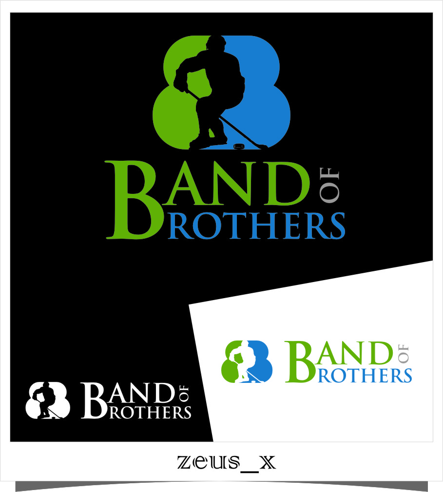 Logo Design by Ngepet_art - Entry No. 3 in the Logo Design Contest Inspiring Logo Design for Band of Brothers.