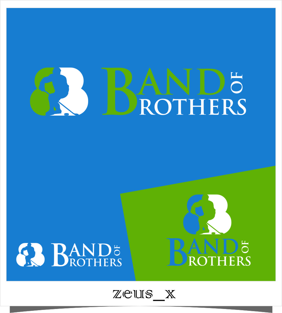 Logo Design by RoSyid Rono-Rene On Java - Entry No. 4 in the Logo Design Contest Inspiring Logo Design for Band of Brothers.