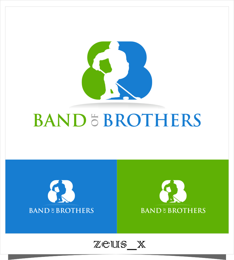 Logo Design by RasYa Muhammad Athaya - Entry No. 5 in the Logo Design Contest Inspiring Logo Design for Band of Brothers.