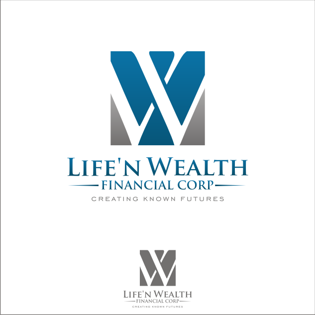 Logo Design by key - Entry No. 41 in the Logo Design Contest Life'nWealth Financial Corp..