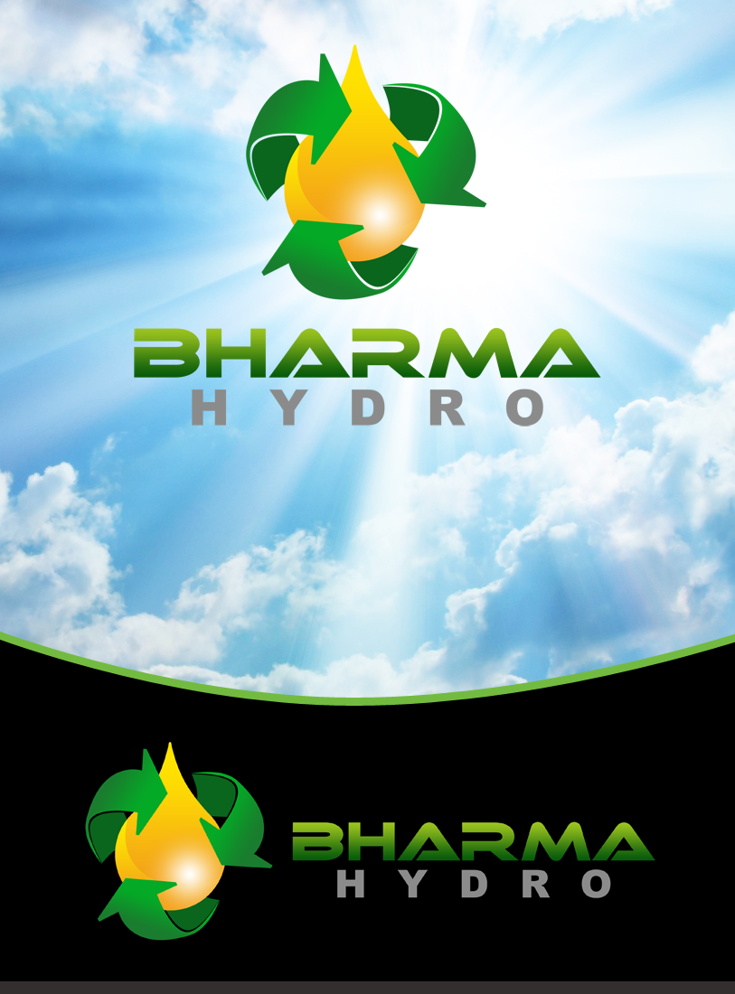 Logo Design by Private User - Entry No. 2 in the Logo Design Contest Creative Logo Design for Bharma Hydro.