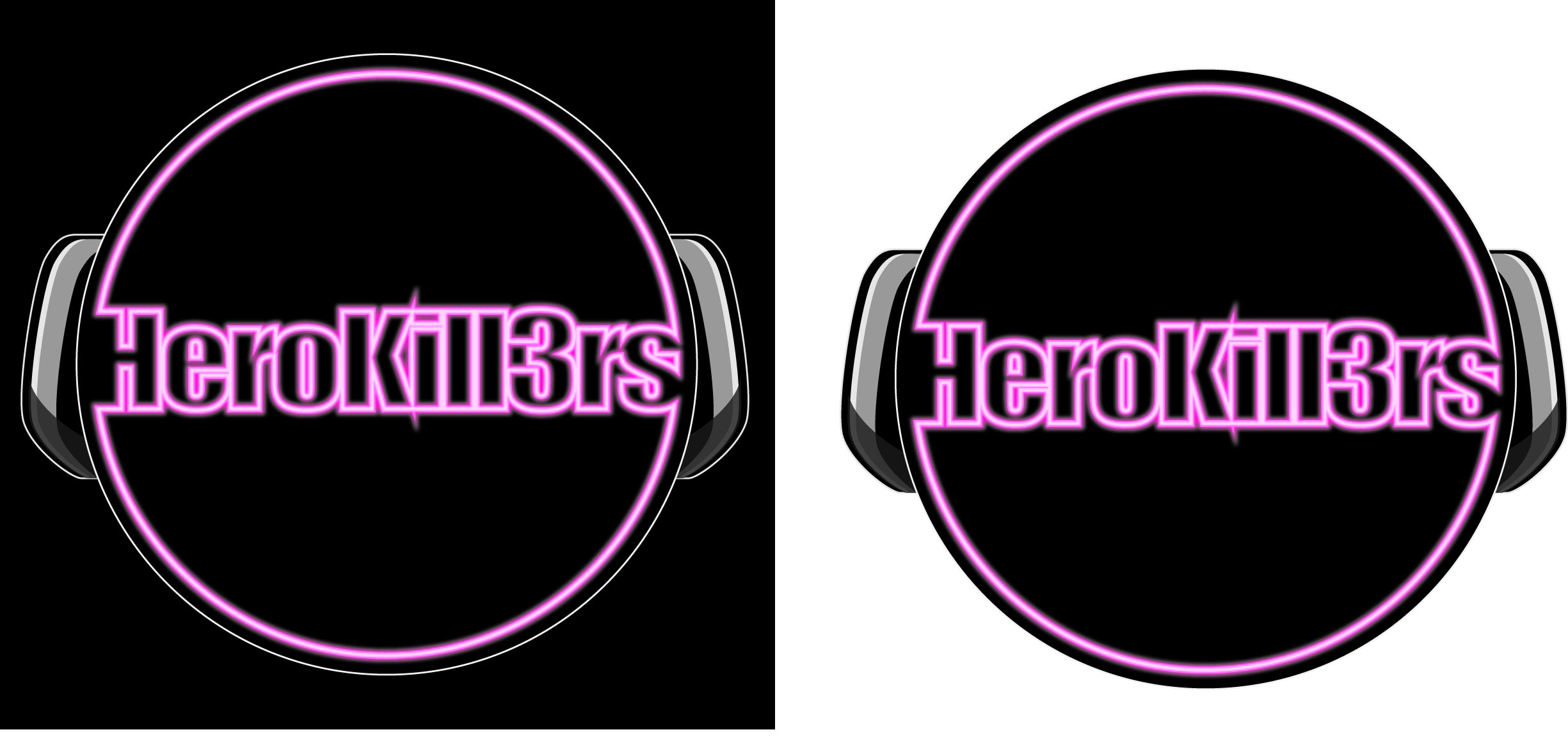 Logo Design by iwyn - Entry No. 38 in the Logo Design Contest Fun Logo Design for HeroKill3rs.