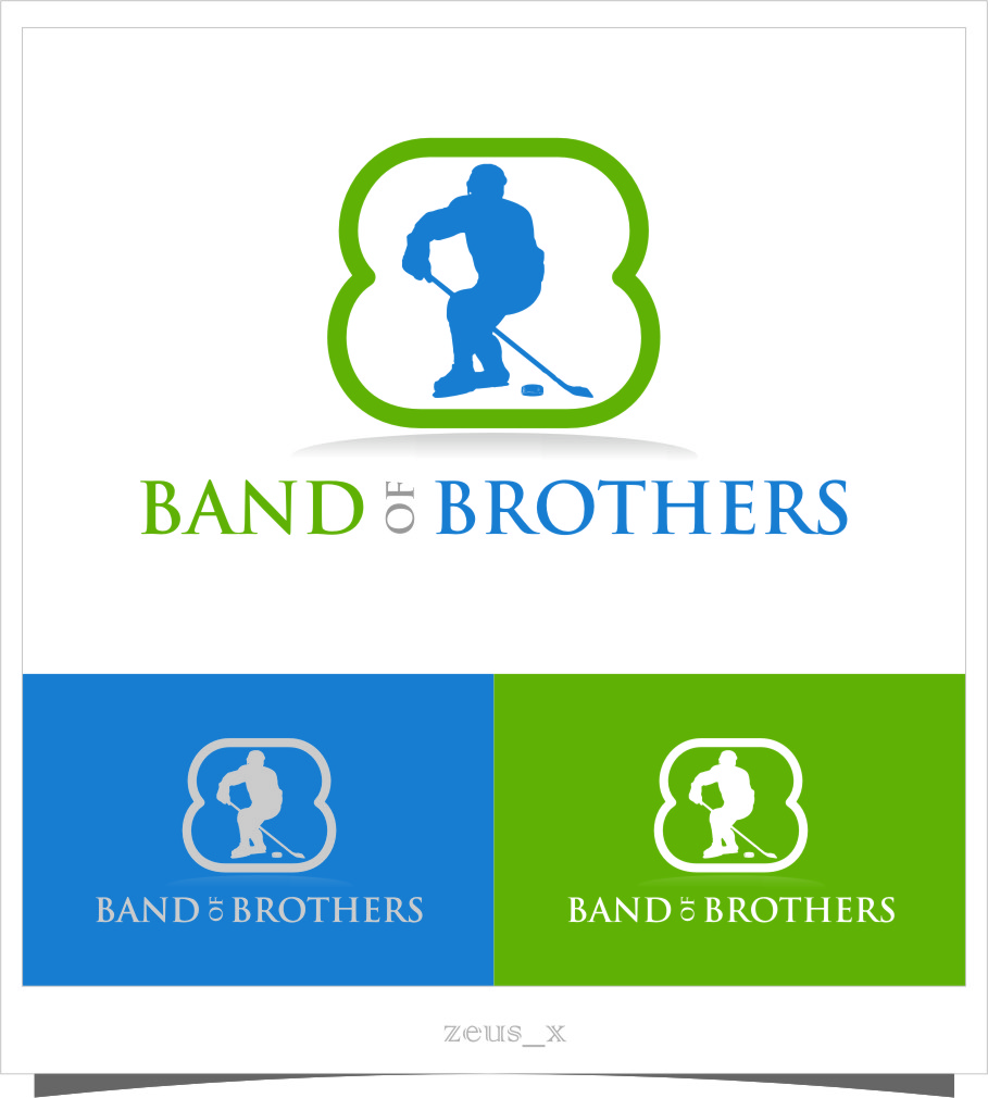 Logo Design by RasYa Muhammad Athaya - Entry No. 6 in the Logo Design Contest Inspiring Logo Design for Band of Brothers.