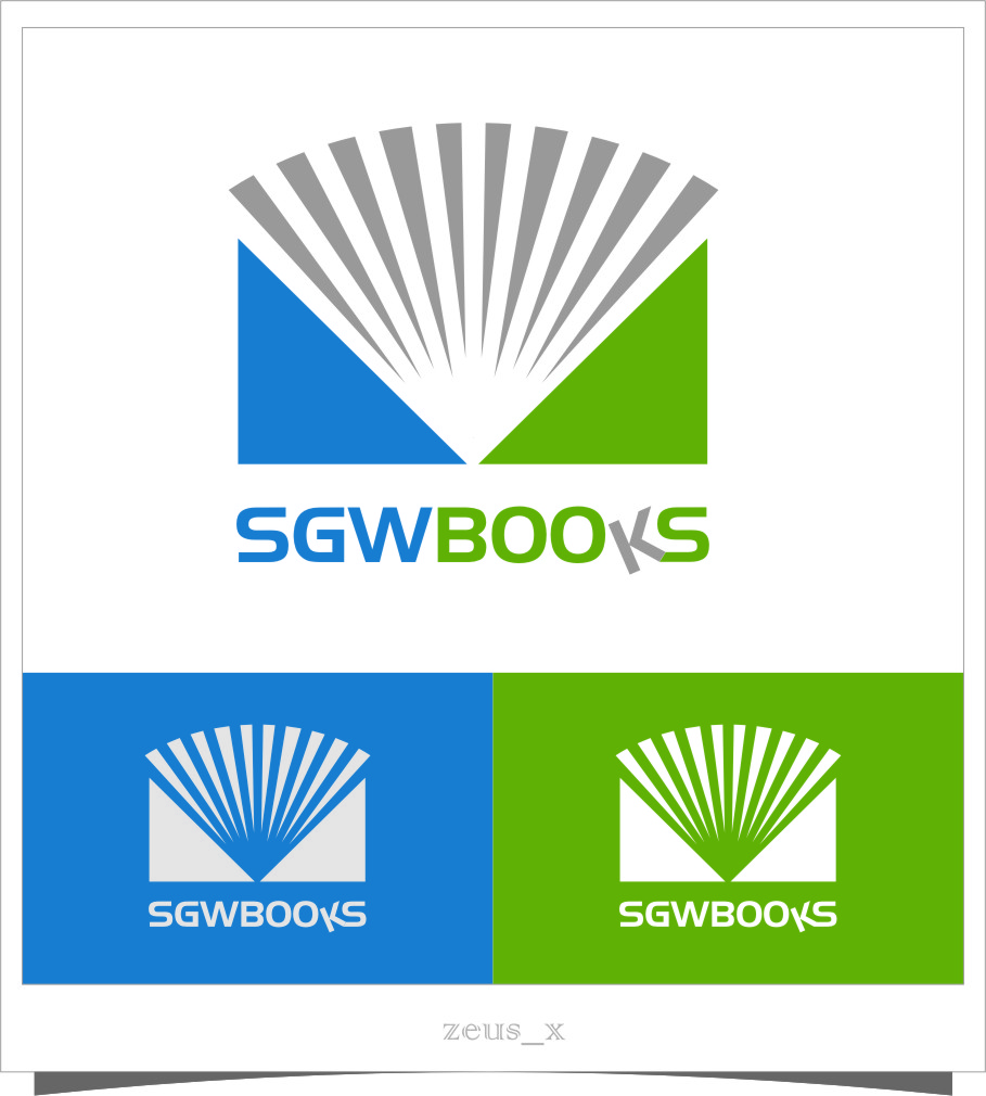 Logo Design by RasYa Muhammad Athaya - Entry No. 3 in the Logo Design Contest SGW Books Logo Design.
