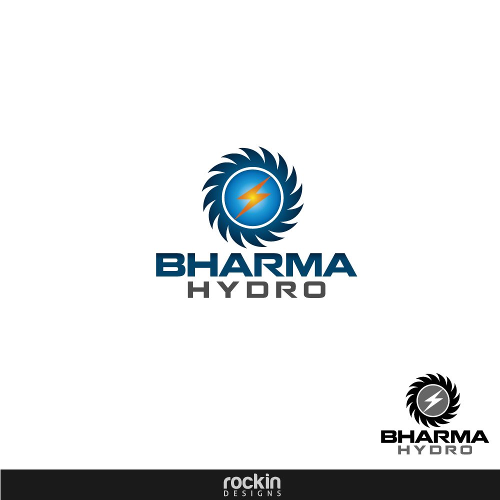 Logo Design by rockin - Entry No. 5 in the Logo Design Contest Creative Logo Design for Bharma Hydro.