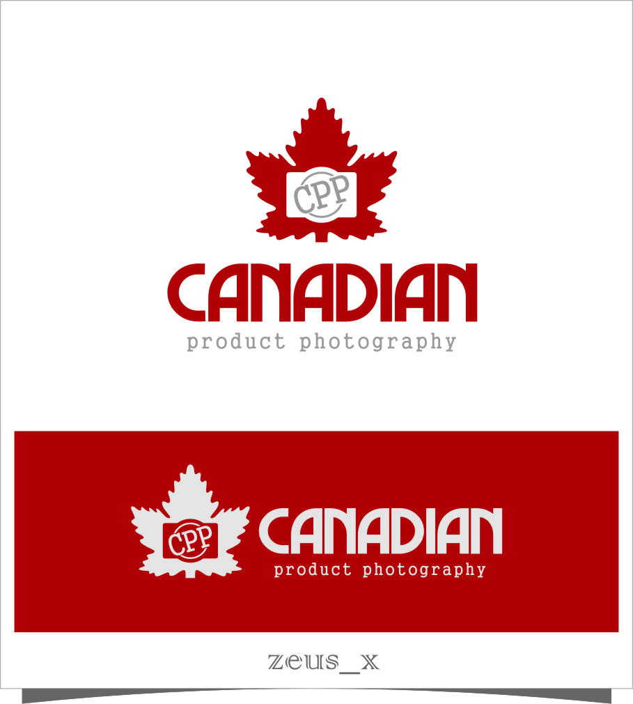 Logo Design by Ngepet_art - Entry No. 1 in the Logo Design Contest Artistic Logo Design for Canadian Product Photography.