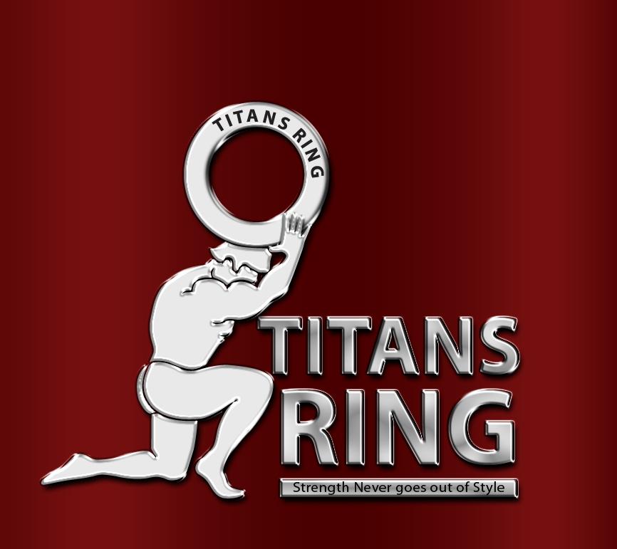 Logo Design by Arun Prasad - Entry No. 19 in the Logo Design Contest Inspiring Logo Design for Titans Ring.