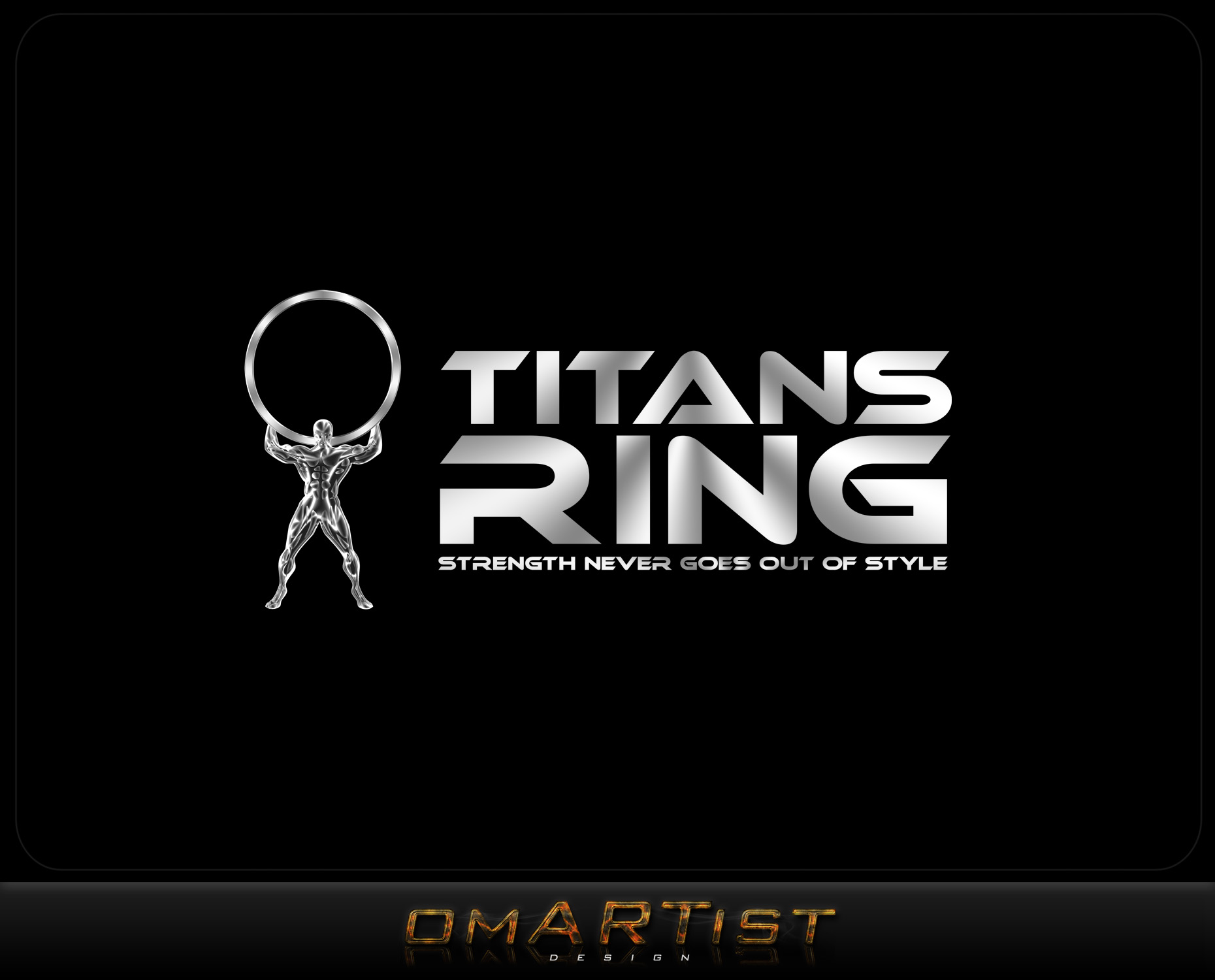Logo Design by omARTist - Entry No. 20 in the Logo Design Contest Inspiring Logo Design for Titans Ring.