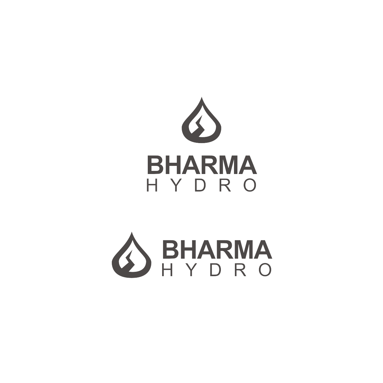 Logo Design by Think - Entry No. 7 in the Logo Design Contest Creative Logo Design for Bharma Hydro.