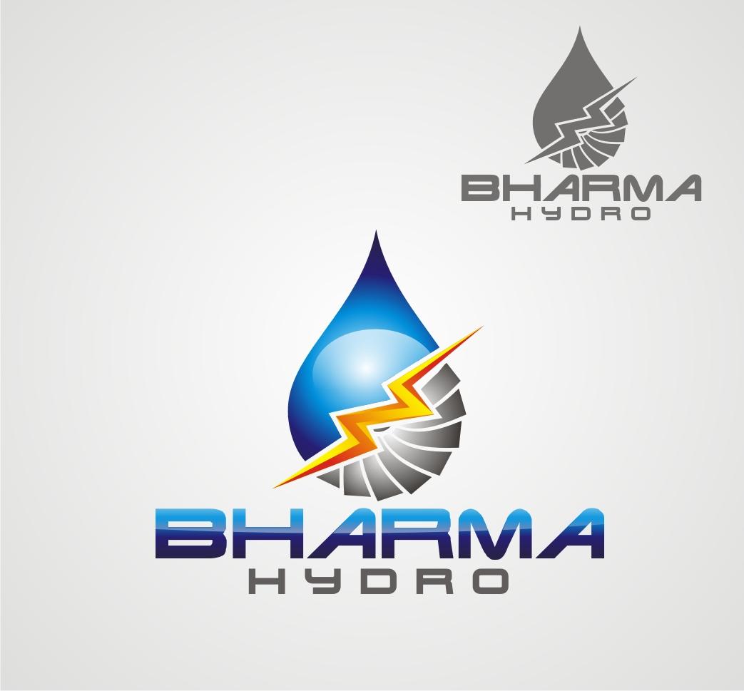 Logo Design by Reivan Ferdinan - Entry No. 9 in the Logo Design Contest Creative Logo Design for Bharma Hydro.