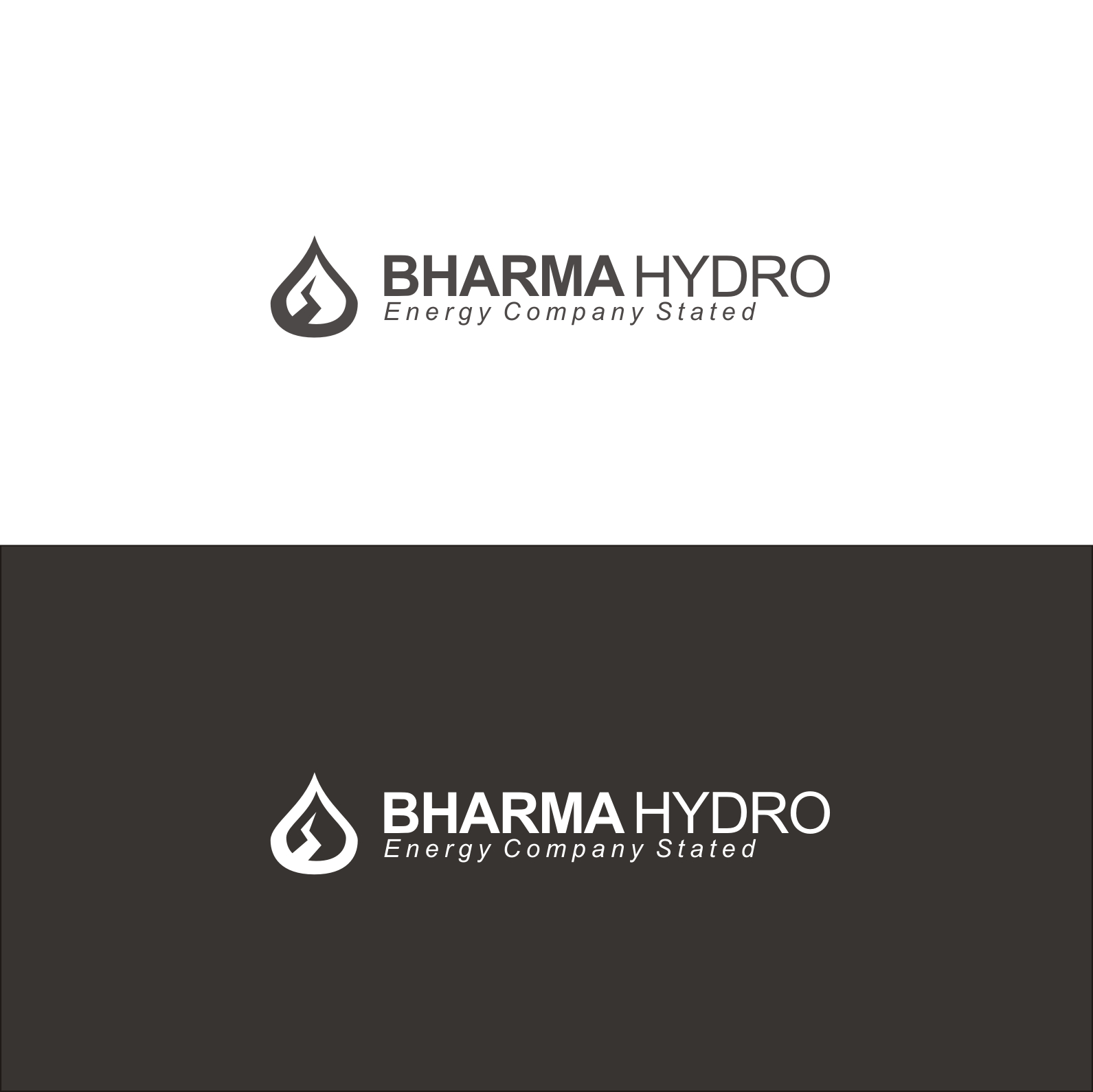 Logo Design by Think - Entry No. 10 in the Logo Design Contest Creative Logo Design for Bharma Hydro.