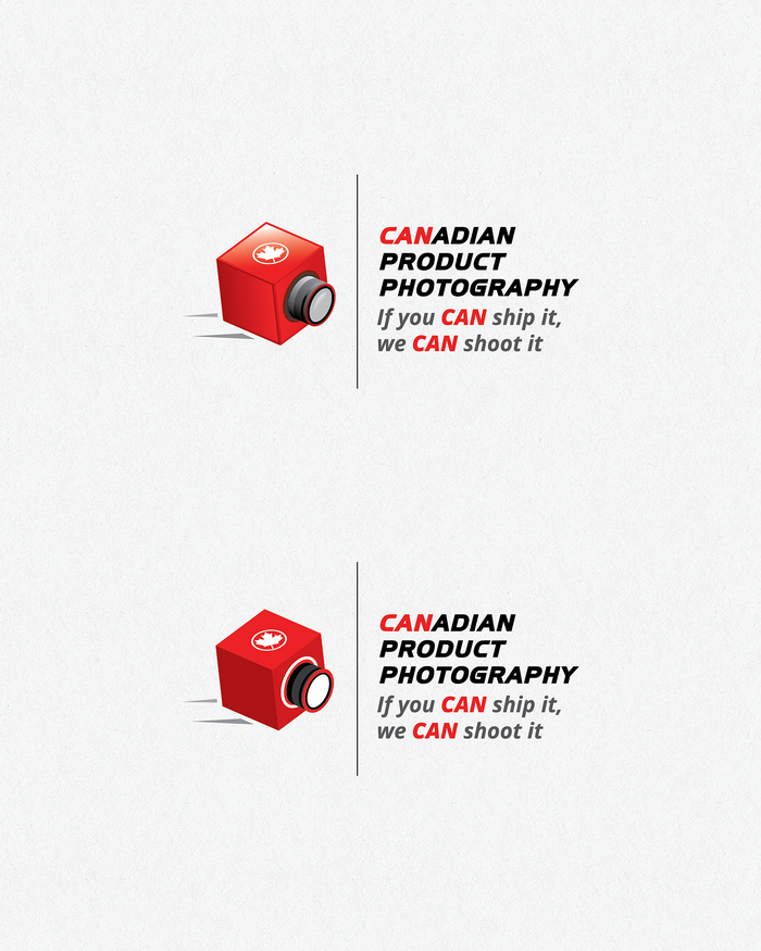 Logo Design by logotweek - Entry No. 5 in the Logo Design Contest Artistic Logo Design for Canadian Product Photography.