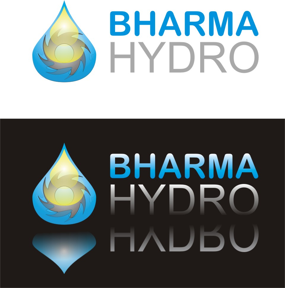 Logo Design by Korsunov Oleg - Entry No. 12 in the Logo Design Contest Creative Logo Design for Bharma Hydro.