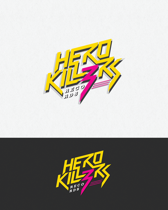 Logo Design by logotweek - Entry No. 59 in the Logo Design Contest Fun Logo Design for HeroKill3rs.