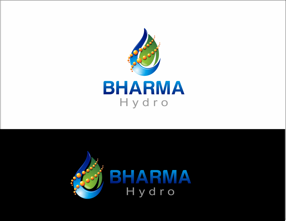 Logo Design by Yansen Yansen - Entry No. 15 in the Logo Design Contest Creative Logo Design for Bharma Hydro.