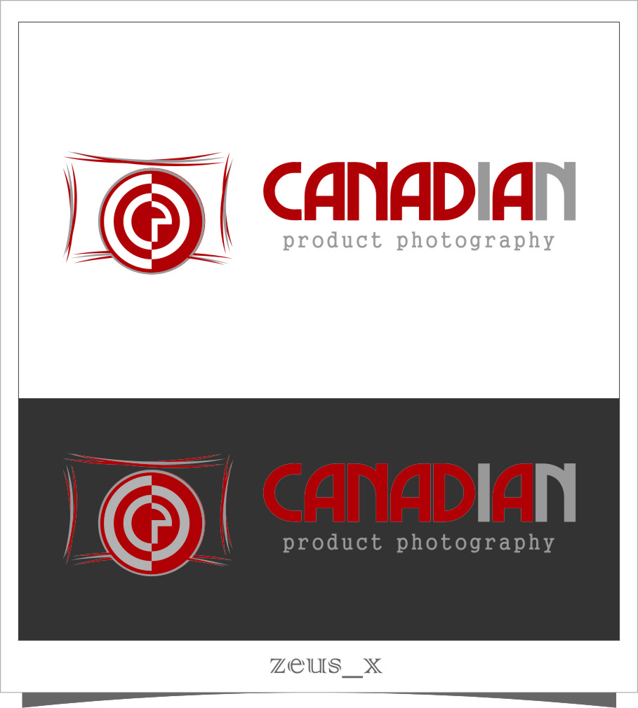 Logo Design by Ngepet_art - Entry No. 8 in the Logo Design Contest Artistic Logo Design for Canadian Product Photography.