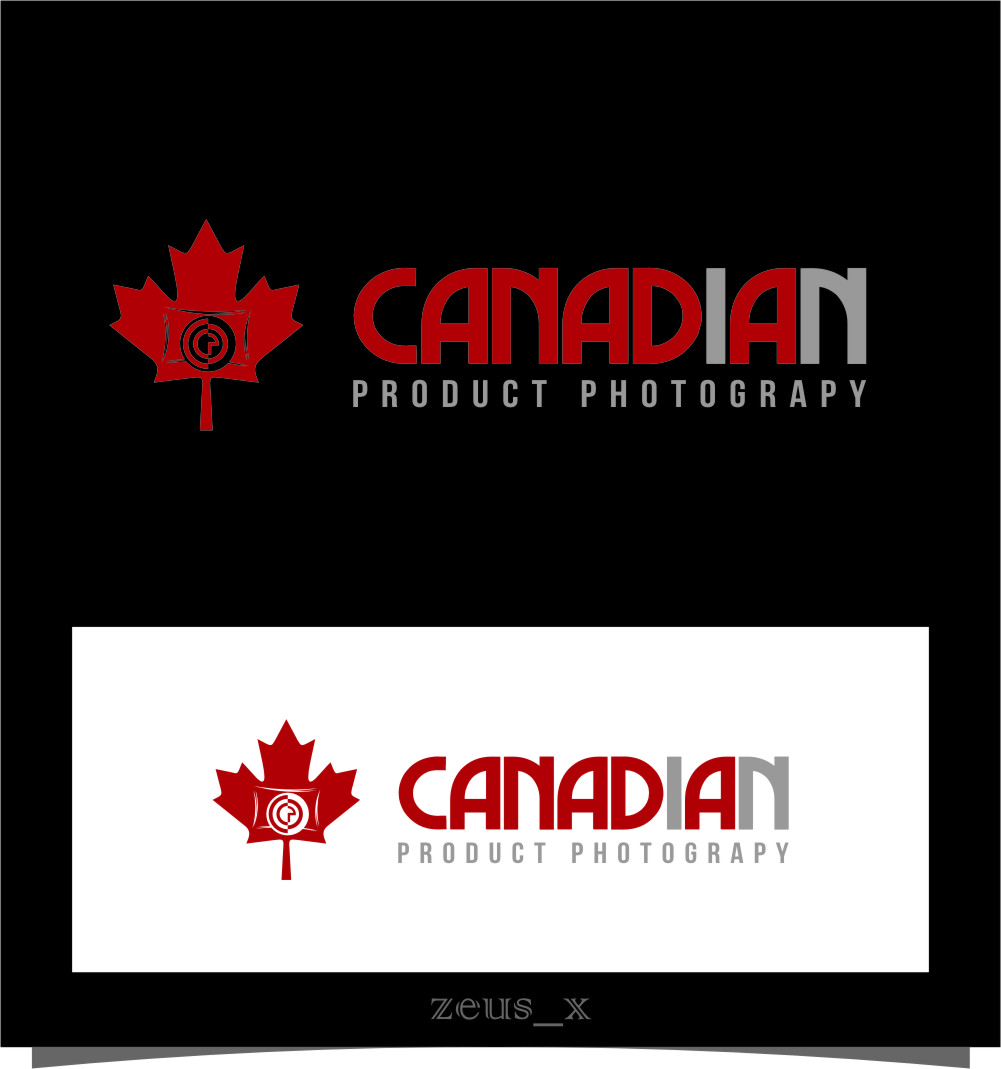 Logo Design by Ngepet_art - Entry No. 9 in the Logo Design Contest Artistic Logo Design for Canadian Product Photography.