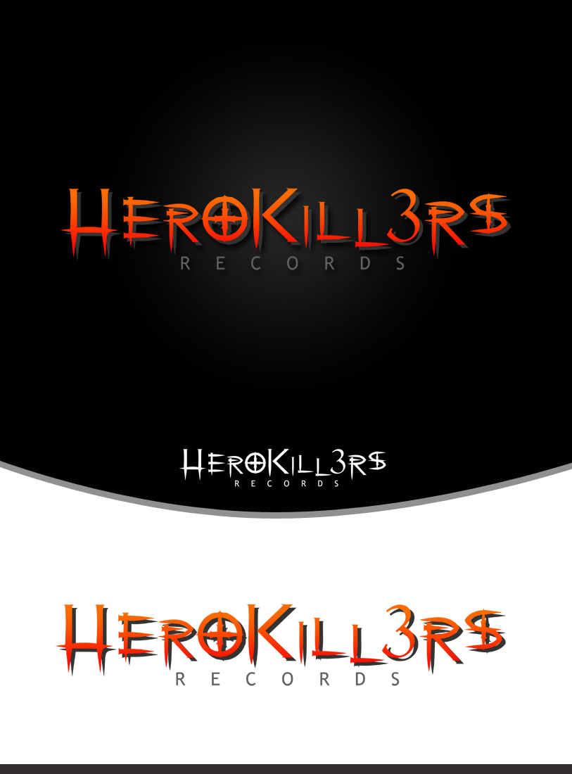 Logo Design by Private User - Entry No. 65 in the Logo Design Contest Fun Logo Design for HeroKill3rs.