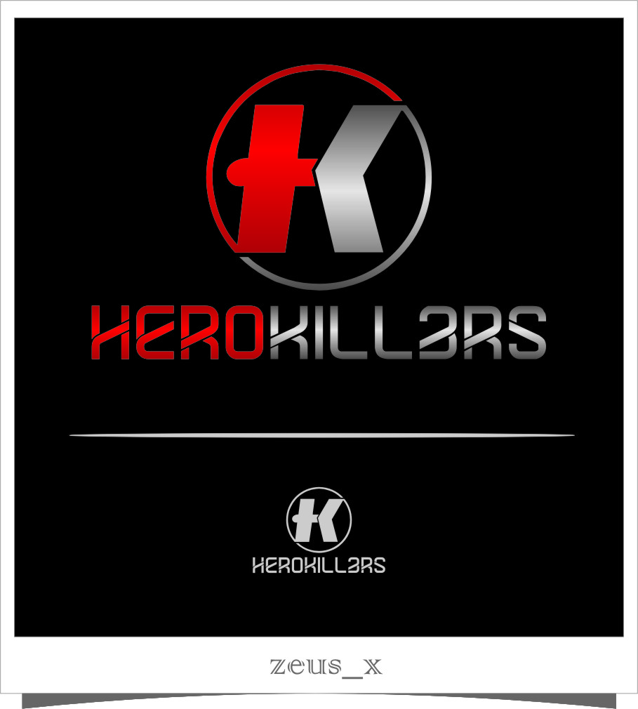 Logo Design by RasYa Muhammad Athaya - Entry No. 66 in the Logo Design Contest Fun Logo Design for HeroKill3rs.