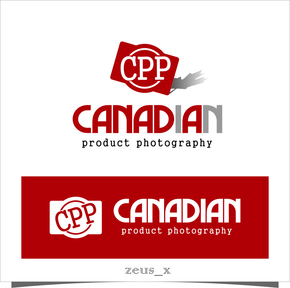 Logo Design by RasYa Muhammad Athaya - Entry No. 11 in the Logo Design Contest Artistic Logo Design for Canadian Product Photography.