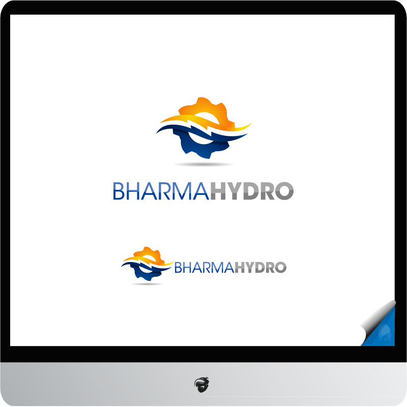 Logo Design by zesthar - Entry No. 16 in the Logo Design Contest Creative Logo Design for Bharma Hydro.