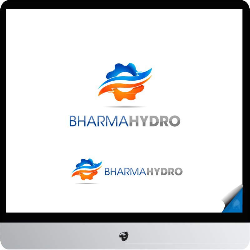 Logo Design by zesthar - Entry No. 17 in the Logo Design Contest Creative Logo Design for Bharma Hydro.